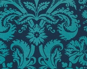 Amy Butler Fabric Belle Acanthus in Teal 1 yard