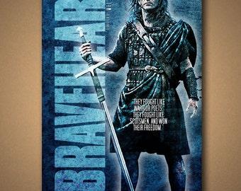 BRAVEHEART Movie Quote Poster