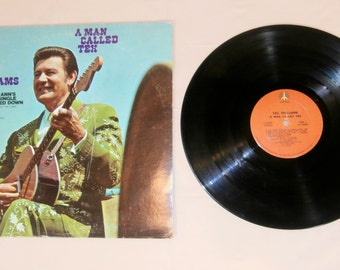 TEX WILLIAMS - a man called Tex - vinyl LP record Album - Z 30909
