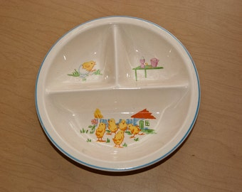Vintage Baby's divided plate