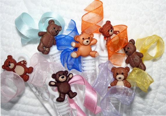 baby shower favor teddy bear party favor first birthday party favor
