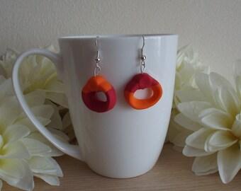 Jelly Ring Earrings