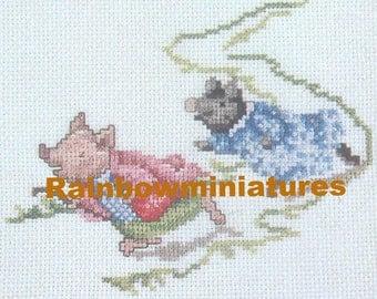 cross stitch beatrix potter pigwig  CHART INSTRUCTIONS ONLY lakeland artist new