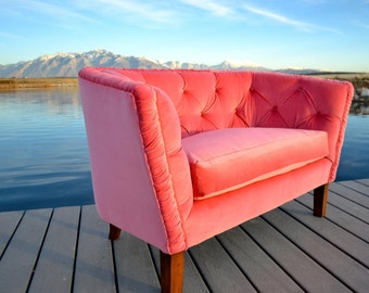 velvet chairs etsy. Black Bedroom Furniture Sets. Home Design Ideas