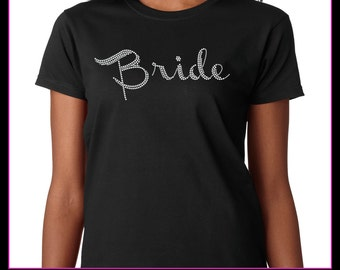 Bride / Wedding party Rhinestone T-Shirt