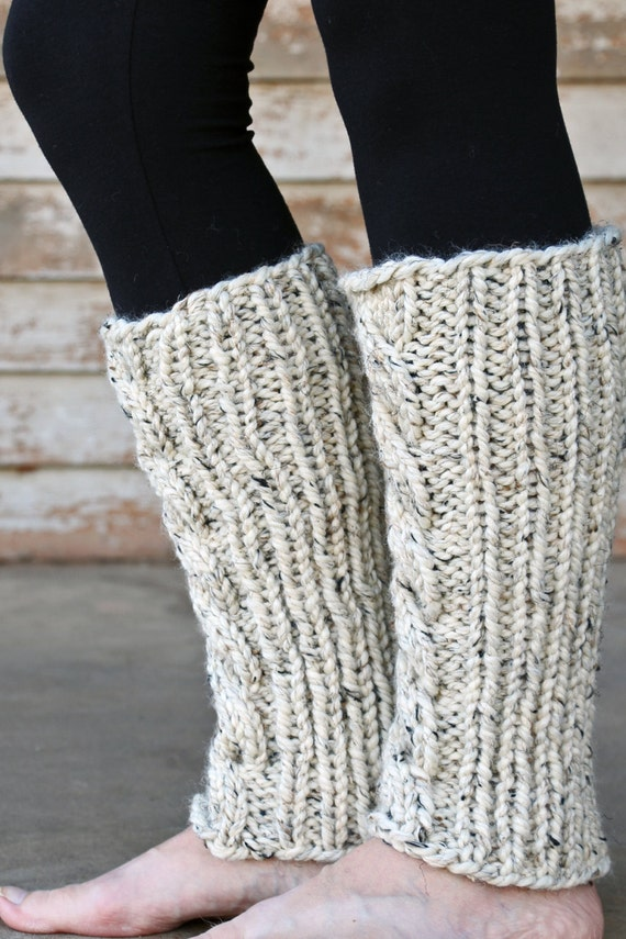 Knit Leg Warmers Cable Pattern : Cable Knit Leg Warmers Knitting PATTERN - INVENTIVENESS - a set of INSTRUCTIO...