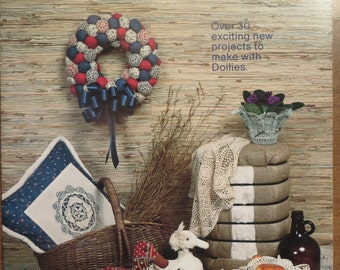 Doilies That Warm the Home booklet  Craft Library