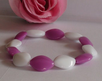 Beaded bracelet.Handmade bracelet.Stretchy bracelet.Women'/Girl's bracelet.Women's/Girl's jewelry.