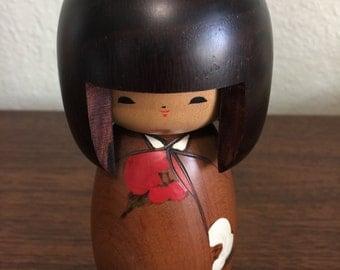 On Sale Vintage Kokeshi Doll