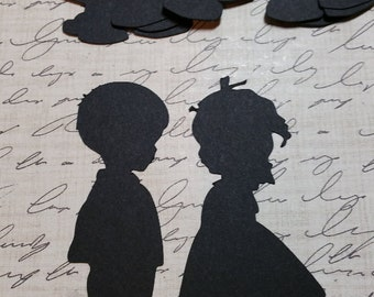 Die Cut Little boy and Girl.                      #OP-28