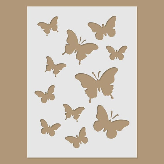 Butterfly Paint Stencils For Walls