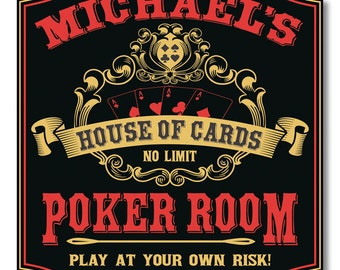 Poker signs names