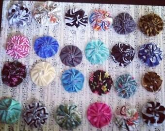 Fabric YoYo's