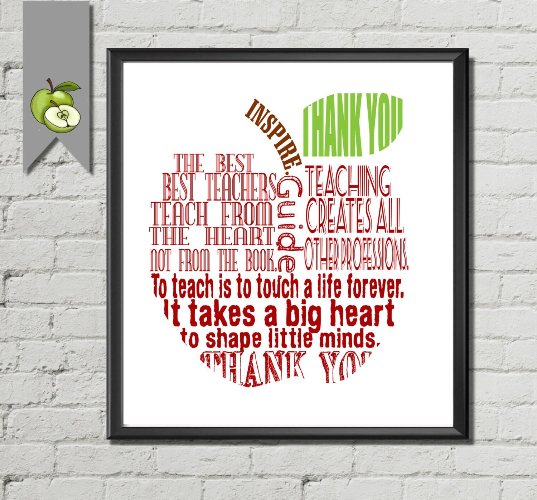 teacher appreciation gift teacher quotes thank by