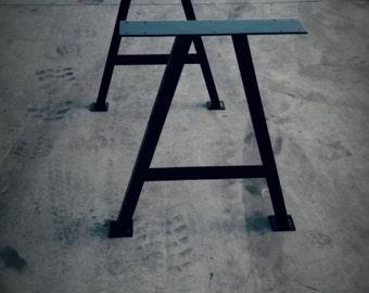 A Frame Table Legs (Pair)