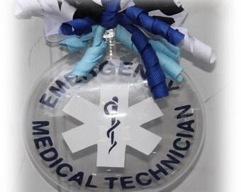 EMT Emergency Medical Technician Christmas Ornament