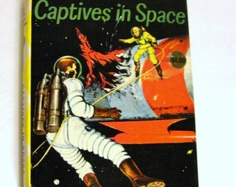 Captives In Space A Dig Allen Space Explorer Adventure True First Edition Golden Press 250