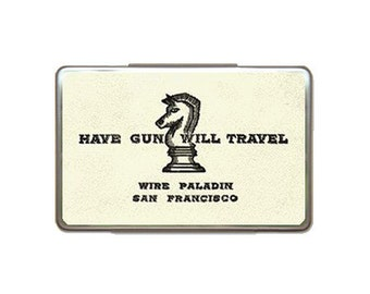 Have Gun Will Travel Metal Box Case
