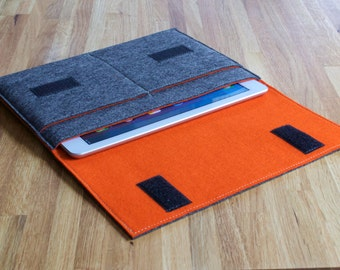 iPad Air Case / iPad Air Sleeve / iPad Air Cover - Various Outer and Inner Colours - 100% Wool Felt