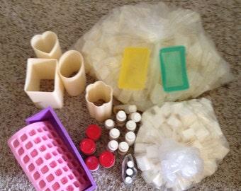 Soap Making Kit - Melt and pour soap kit