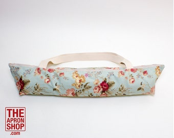 English Floral Yoga Bag