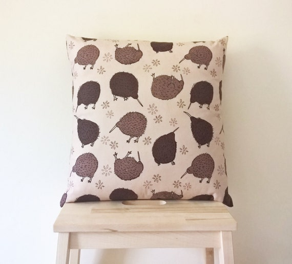 Bumblin' Kiwis Patterned Cushion Cover 45x45cm