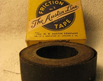 Vintage Friction Tape by M.B. Austin Company