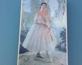 Edward Sharp & Sons LTD, Ballerina Tin, Vintage Art Deco