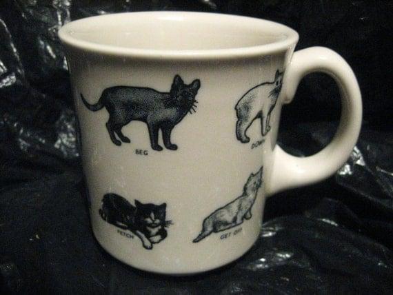 Fishs eddy cats mug restaurant china for Fishs eddy dinnerware