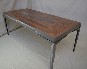 Handcrafted Walnut Dining Table
