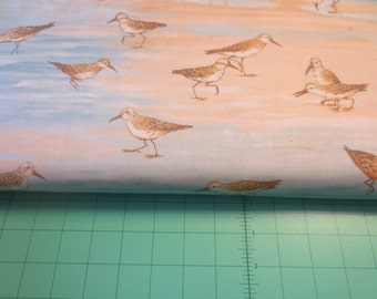 Sandpiper cotton fabric