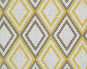 1/2 or 1 yard fabric -Home Decor Fabric -Premier Prints Annie Corn Yellow