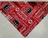 REPUBLICAN Elephant - Dog Bandana Scarf - Collar slides through top casing - Pet Couture