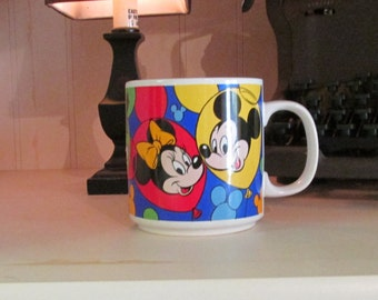 Disney Classic Faces Mug - Mickey Minnie Donald Goofy Pluto