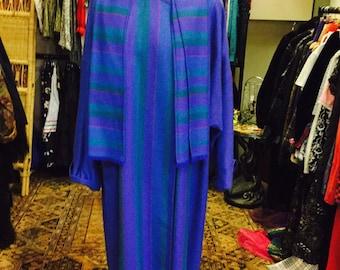 Hand Weaven Wool Cloak Coat
