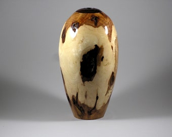 Vase made from Hickory