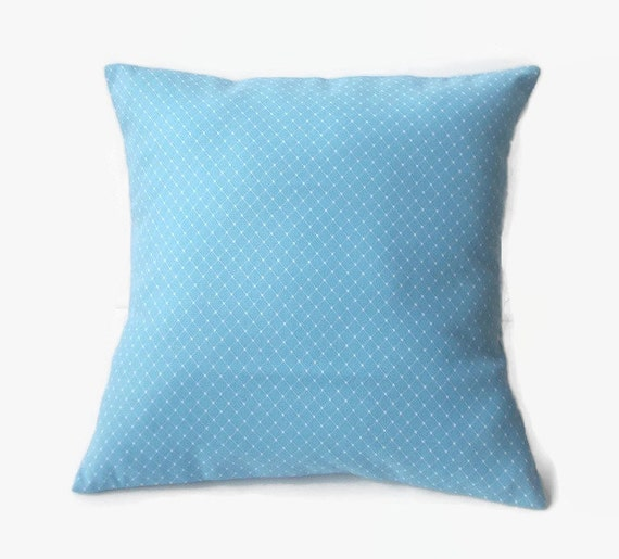 Sky Blue Decorative Pillows : Sky Blue Decorative 16x16 Pillow Cover With by PillowsGaloreNMore