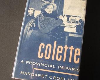 Colette, A Provincial in Paris, vintage book, France