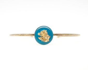 Bangle Kaladi turquoise & bronze