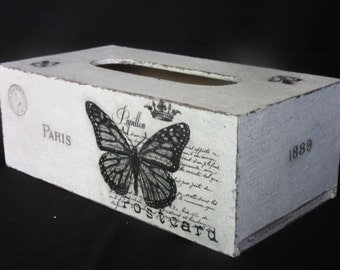 Shabby tissue box