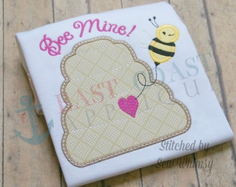 BEE MINE machine embroidery design