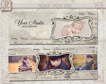 Facebook Timeline Cover Template photoshop vol 18