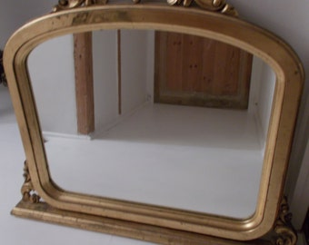 Overmantel Gilt Mirror