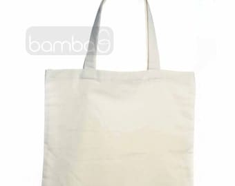 Canvas Tote Bag | DIY | Canvas Favor Bag