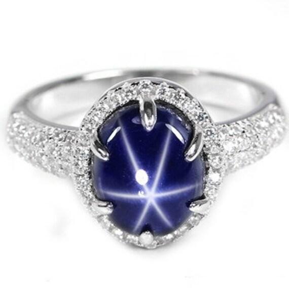 genuine star sapphire ring - photo #21