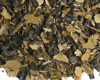 Organic  Tea - Green with Lemon Ginseng -  Loose Leaf  - 4 oz  Healthy Tea