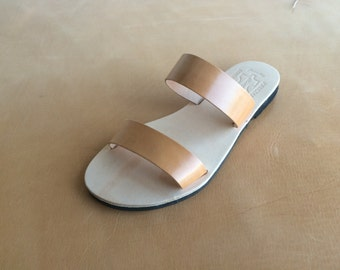 Genuine Leather Sandals Summer sandals US Size 5 to 11.. EU Size 35 to 41..NA122...Handmade Free Shipping