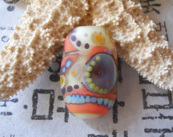 Handmade Focal Glass Lampwork Bead