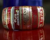 Red Cigar Foot Band Bangle Bracelet