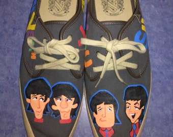 Custom Marc Anthony Beatles Shoes Limited Edition